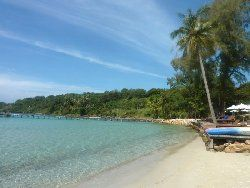 most relaxing double layer beach on Ko Kut island