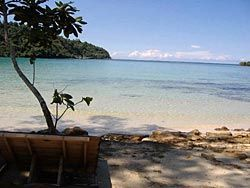 Privacy and quietness at the shallow sloped beach!