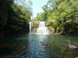Klong Chao Waterfall on Koh Kood (Ko Kut) island