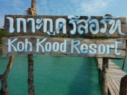 welcome to the koh kood resort private pier